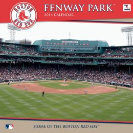 2014 Boston Red Sox Fenway Park 12X12 Wall Calendar