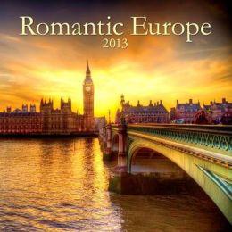 2014 Romantic Europe Wall Calendar