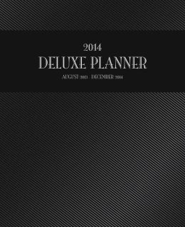2014 Office Deluxe Engagement Planner