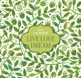 2014 Live, Love, Dream 365 Daily Mini Box Calendar