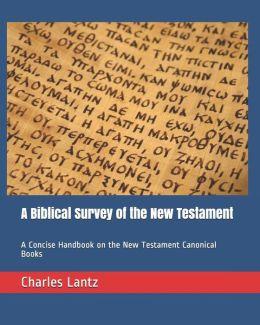 A Biblical Survey of the New Testament: A Concise Handbook on the New Testament Canonical Books