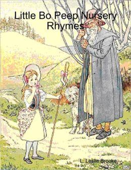 Little Bo Peep Nursery Rhymes
