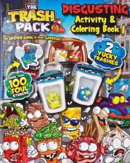 Trash Pack Mucky Activity and Colouring Book