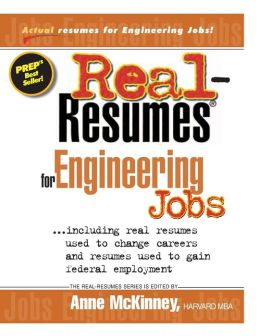 Real-Resumes for Engineering Jobs
