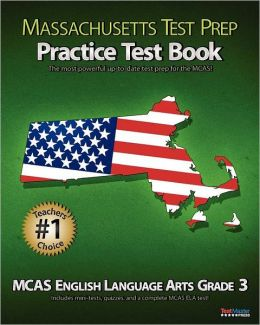 massachusetts test prep practice test book mcas english. Black Bedroom Furniture Sets. Home Design Ideas