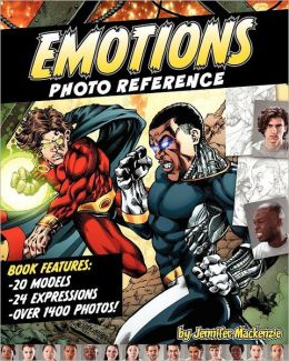 Emotions Photo Reference for Illustrators and Artists Volume 1