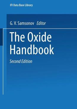 The Oxide Handbook