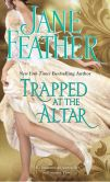 Book Cover Image. Title: Trapped at the Altar, Author: Jane Feather