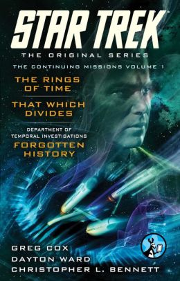 Star Trek: The Original Series: The Continuing Missions, Volume I: The Rings of Time, That Which Divides, DTI: Forgotten History