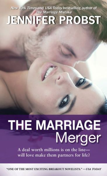 Top 20 free ebooks download The Marriage Merger by Jennifer Probst