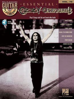 Ozzy Osbourne: Guitar Play-Along Volume 70