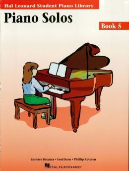 Piano Solos Book 5 - Book/Enhanced CD Pack: Hal Leonard Student Piano Library