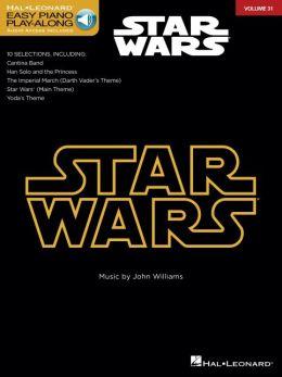Star Wars: Easy Piano CD Play-Along Volume 31