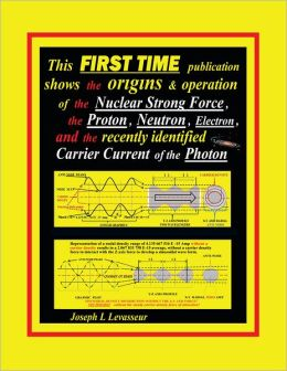This FIRST TIME publication shows the origins & operation of the Nuclear Strong Force, the Proton, Neutron, Electron.and the recently identified Carrier Current of the Photon (PagePerfect NOOK Book)