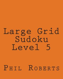 Large Grid Sudoku Level 5: Medium to Moderate Sudoku Puzzles