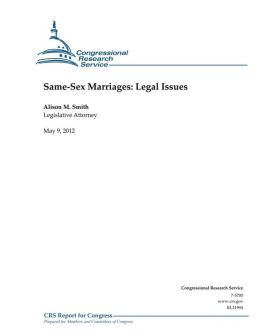 Same-Sex Marriages: Legal Issues