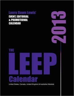 2013 LEEP Calendar: Lewis Event, Editorial & Promotional Calendar