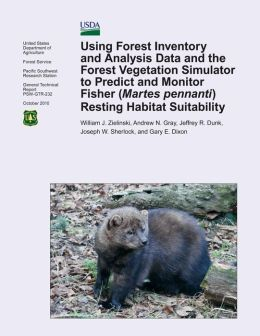 Using Forest Inventory and Analysis Data and the Forest Vegetation Simulator to Predict and Monitor Fisher (Martes Pennanti) Resting Habitat Suitability