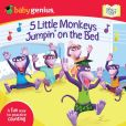 Book Cover Image. Title: 5 Little Monkeys Jumpin' on the Bed:  A Sing 'N Count Book, Author: Baby Genius