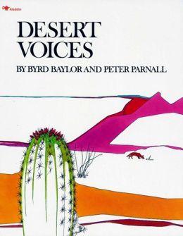 Desert Voices: with audio recording