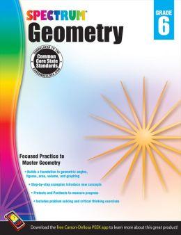 Geometry Workbook, Grade 6