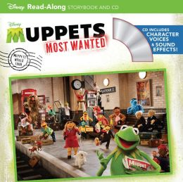Muppets Most Wanted Read-Along Storybook and CD