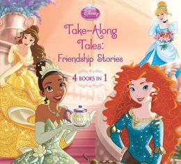 Disney Princess Take-Along Tales (PagePerfect NOOK Book)