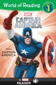 Book Cover Image. Title: World of Reading Captain America:  This Is Captain America: A Marvel Read-Along (Level 1), Author: Marvel Press