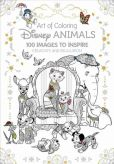 Book Cover Image. Title: Art of Coloring:  Disney Animals: 100 Images to Inspire Creativity and Relaxation, Author: Disney Book Group