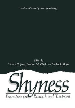 Shyness: Perspectives on Research and Treatment