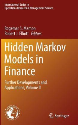 Hidden Markov Models in Finance: Further Developments and Applications, Volume II