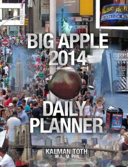 Big Apple 2014 Daily Planner