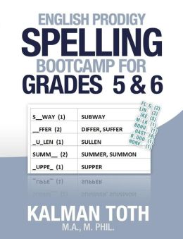English Prodigy Spelling Bootcamp for Grades 5 & 6