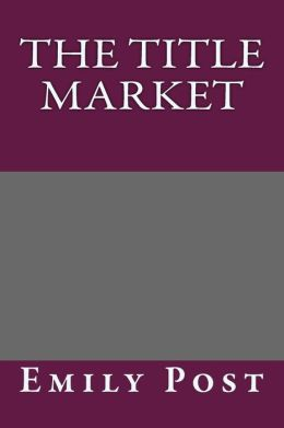 The Title Market