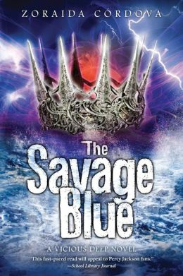The Savage Blue (Vicious Deep Series #2)