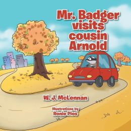 Mr. Badger visits cousin Arnold