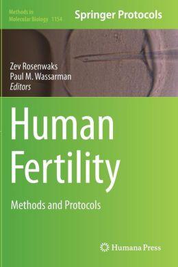 Human Fertility: Methods and Protocols