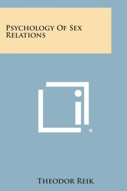 Psychology of Sex Relations