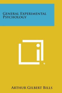 General Experimental Psychology