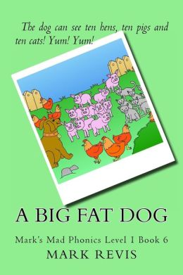 A Big Fat Dog: Mark's Mad Phonics Level 1 Book 6