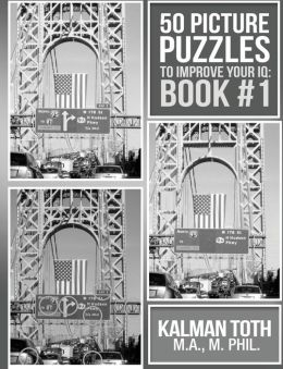 50 Picture Puzzles to Improve Your IQ: Book #1