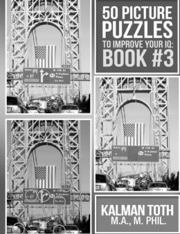 50 Picture Puzzles to Improve Your IQ: Book #3