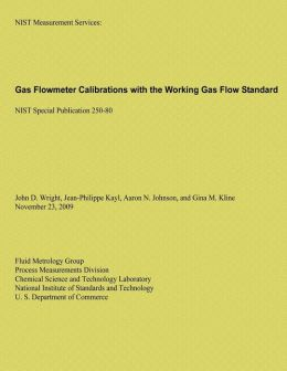 Gas Flowmeter Calibrations with the Working Gas Flow Standard