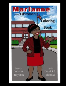 Marianne the Librarian Coloring Book