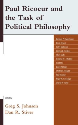 Paul Ricoeur and the Task of Political Philosophy