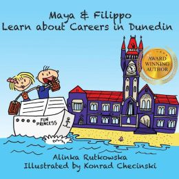 Maya & Filippo Learn about Careers in Dunedin