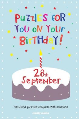 Puzzles for You on Your Birthday - 28th September