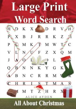 Satisfactory image throughout free printable extra large print word search