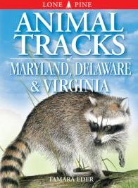 Animal Tracks of Maryland, Delaware and Virginia (including Washington D.C.)