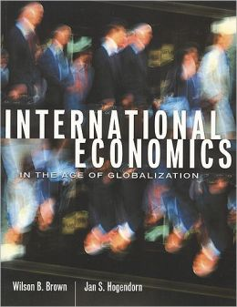 International Economics in a Globalization